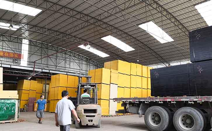 嘉龙木业是贵港市著名的建筑模板厂